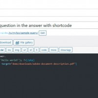 Edit query item